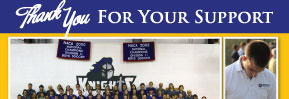 Marketing - Direct Mail Postcard: Christian Heritage Academy Donor Thank You