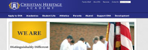 Web Design: Christian Heritage Academy