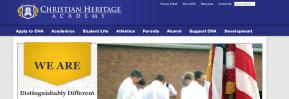 Web Design: Christian Heritage Academy