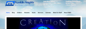 Web Design: Franklin Heights Baptist Church